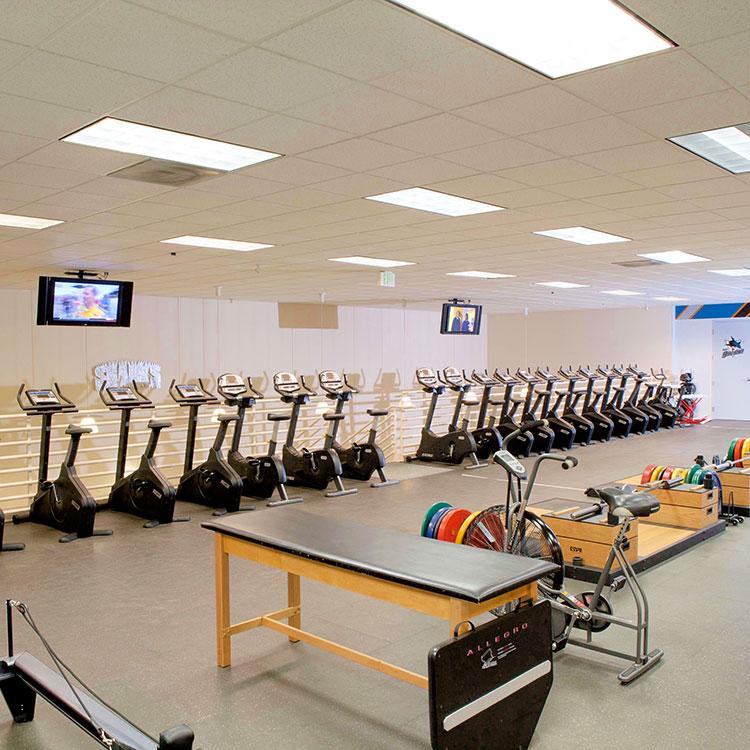 San Jose Sharks NHL Training Facility And Sharks Ice